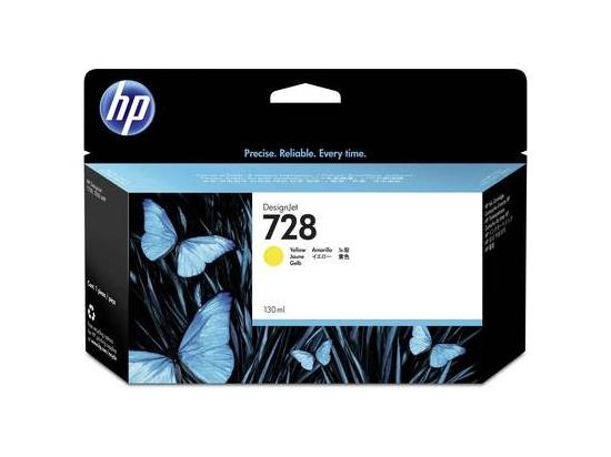 HP Ink 728 130ml Yellow F9J65A
