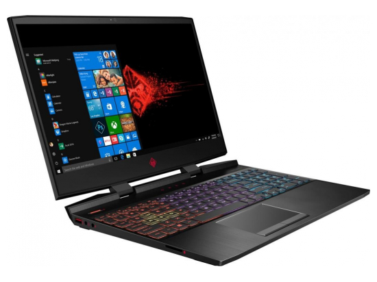 Laptop OMEN 15-dc0009nw i7-8750H 1TB+256/16/DOS/GTX 1070 4XH05EA