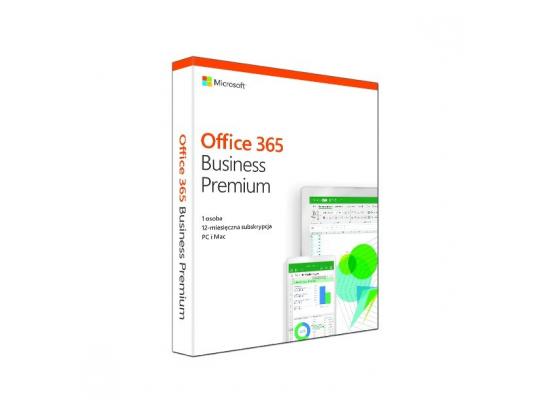Office 365 Business Premium PL Box P4 Win/Mac KLQ-00380