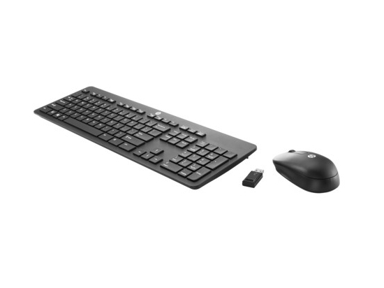 Slim Wireless KB and Mouse            T6L04AA
