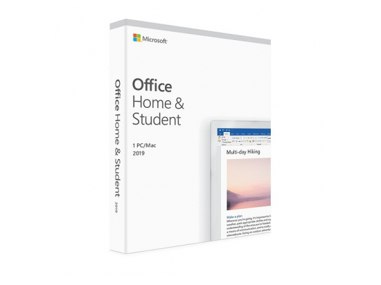 Office Home & Student 2019 PL P6 Box Win/Mac 32/64bit 79G-05160 Zastępuje P/N: 79G-05037