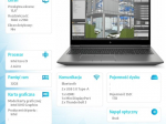 Notebook ZBook Fury15 G7 W10P i9-10885H/1TB/32 119X7EA
