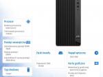 Komputer EliteDesk 800 G6 TWR i7-10700 512/16/DVD/W10P  272Y2EA