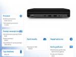 Minikomputer EliteDesk 800 G6 i5-10500T 256/8G/W10P 1D2L2EA