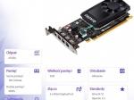 Karta graficzna NVIDIA Quadro P620 2GB Kit w/2Adapt 3ME25AA