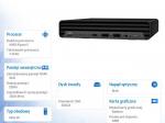 Minikomputer EliteDesk 805 DM G6 R5-4650GE 256/8GB/W10P     21L39EA