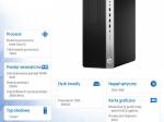 Komputer EliteDesk 800TWR G4 i5-8500 256/8G/DVD/W10P  4KW62EA