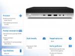 Komputer ProDesk Mini 600DM G5 i5-9500T 256/8GB/W10P 7XL02AW
