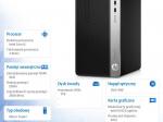Komputer ProDesk 400MT G6 i5-9400 1TB/8G/DVD/W10P  9UR66EA