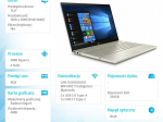 Laptop Pavilion 15-cw1004nw R5-3500U 256/8G/W10H/15,6 6VR82EA