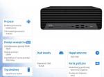 Komputer ProDesk 600SFF G6 i7-10700 512/16/DVD/W10P  1D2Q5EA