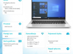 Notebook 640 G8 i5-1135G7 512/16/W10P/14 250C4EA